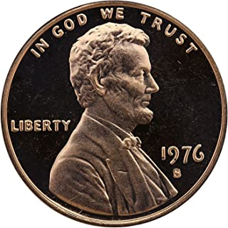 1976 S Gem Proof Lincoln Memorial Cent Penny Proof US Mint