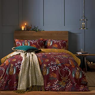 furn. Forest Fauna Duvet Cover Set, Rust, Double