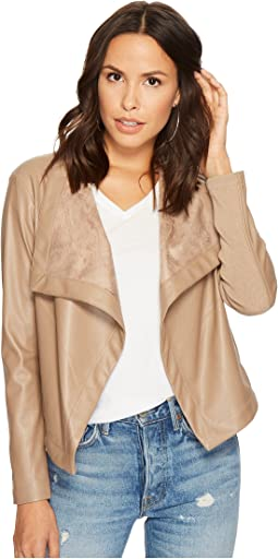 BB Dakota - Gracelyn Drape Front Jacket