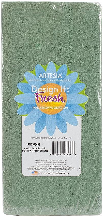 Floracraft FNDW349 Artesia Deluxe Wet Foam Brick 3