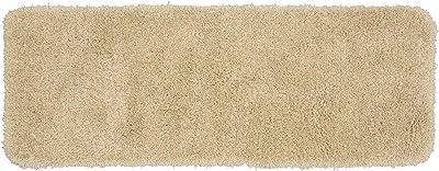 Garland Rug Serendipity Shaggy Washable Nylon Rug, 22-Inch by 60-Inch, Linen