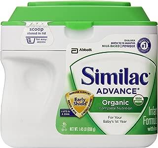 Similac Advance Organic Early Shield 1.45 Lb (Pack of 4)