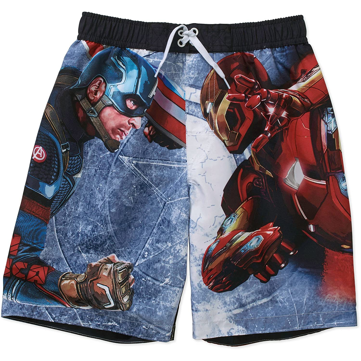 Marvel Avengers Boys Swim Shortsサイズ4?/ 5