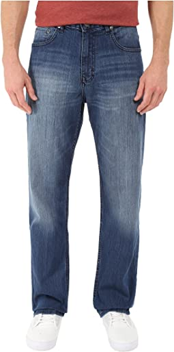 Relaxed Straight Jean in Cove Wash
