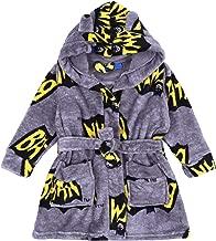 Adulte Officiel DC COMICS Classique Batman Logo Polaire Peignoir Robe De Chambre