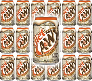 Sponsored Ad - A&W (Zero) Diet Root Beer, 12 Fl Oz Cans, (Pack of 20, Total of 240 Fl Oz)