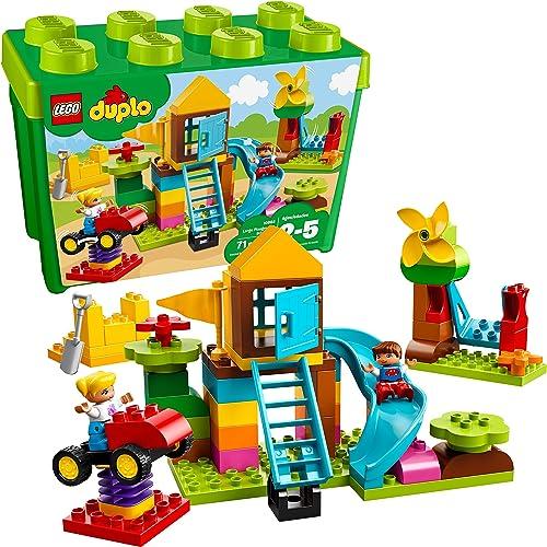 2021 LEGO sale DUPLO Large online Playground Brick Box 10864 Building Block (71 Pieces) online sale