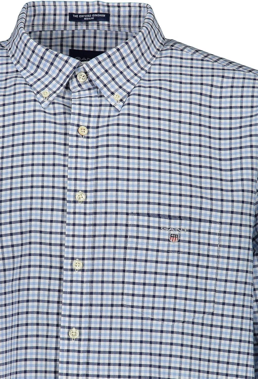 GANT - Camisa para hombre (talla 3XL), color azul: Amazon.es ...