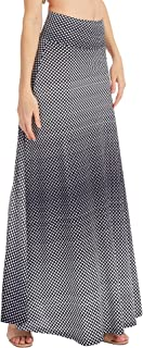 Best polyester spandex long skirts Reviews
