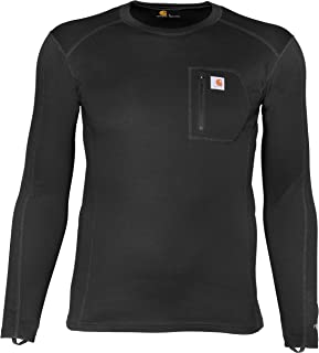 Carhartt Base Layer Men's Force Midweight Tech Thermal Base Layer Long Sleeve Shirt