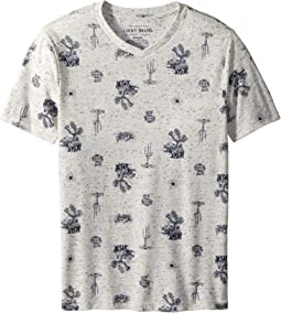 Lucky Brand Kids - Short Sleeve Print Tee (Big Kids)