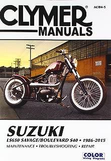 Clymer Suzuki LS650 Savage Boulevard S40 (1986-2012)