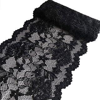 "Black Medium Softness 35 Yards 43mm Black Lace 1 5//8/"""