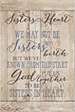 Dexsa Sisters in Heart…New Horizons Wood Plaque with Easel