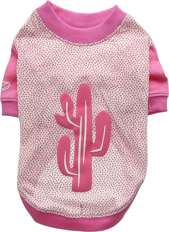Puppia Saguaro Apparel, Large, Pink