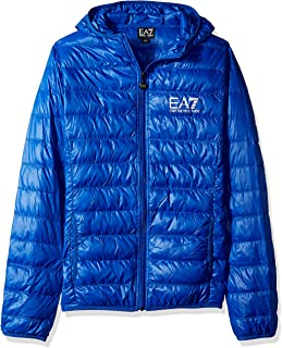 Emporio Armani EA7 Men's Train Core Id Down Light Hoodie Jacket