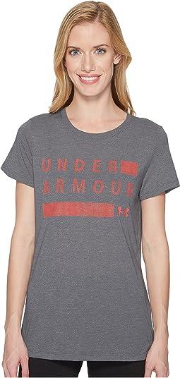 Threadborne Graphic Twist Short Sleeve Shirt