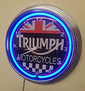 Best triumph motorcycle clock Reviews