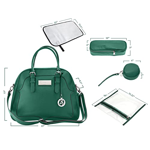 8b401c5d08bb Turquoise Diaper Bag  Amazon.com