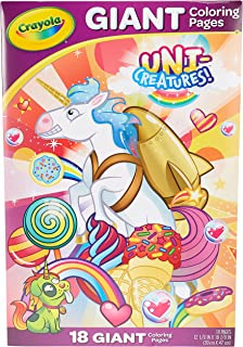 Crayola - 18 Gaint Coloring Pages Uni-Creatures