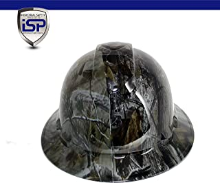 Pyramex Ridgeline Full Brim Custom Colors Hard Hat (Deep Woods Camo)