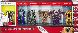 Transformers 4 Age of Extinction Exclusive Action Figure 6-Pack Optimus, Drift, Lockdown, Grimlock, Slug & Bumblebee