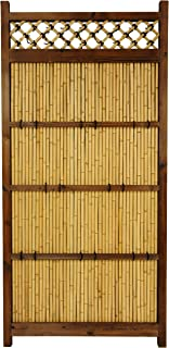 Oriental Furniture 6 ft. x 3 ft. Japanese Bamboo Zen Garden Fence
