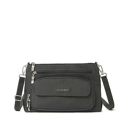 Baggallini Legacy Original Everyday Bag (Charcoal) Handbags