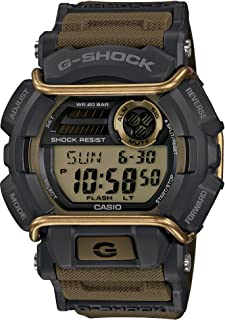 Casio G-Shock Digital Mens Grey / Gold Watch Classic Series GD-400-9 GD-400-9DR