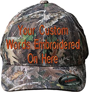 custom camo fitted hats