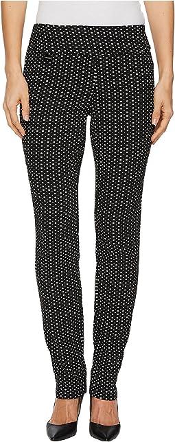 Katheryne Deco Jacquard Slim Pants