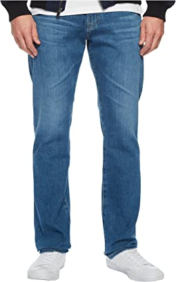 Everett Slim Straight Leg Denim in Sea Wave