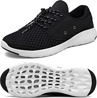 UBFEN Mens Womens Water Shoes for Barefoot Shower Swimming Diving Surfing Quick Dry Drainage Aqua Upstream Shoes Boating Fishing Yoga Driving Running Walking Fashion Sneakers