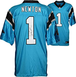 Cam Newton Carolina Panthers Autographed Nike Limited Blue Jersey - Fanatics Authentic Certified - Autographed NFL Jerseys