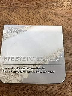 It Cosmetics Bye Bye Pores Pressed Finishing Powder ~ Trial Sample Size ~ 2.4 g/ 0.08 oz