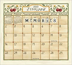 Legacy Publishing Group 2020 Magnetic Calendar Pad, 9.37 x 8.37-Inches, Coming Home