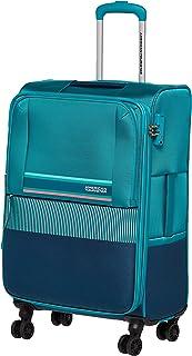 حقيبة سفر صغيرة متوسطة الحجم من American Tourister Auriga باللون الأخضر المائي مقاس 69 سم