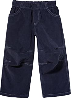 City Threads Boys' Stretchy Corduroy Pull Up Pants for Active Kids School or Play