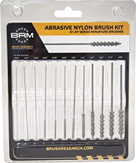 Brush Research 84SKITC 6 Piece Stainless Steel Tube Brush Kit with Ring Handles from 1-1//8 to 1-3//4