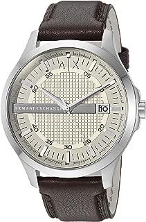 Armani Exchange Analog Off-White Dial Men's Watch - AX2100