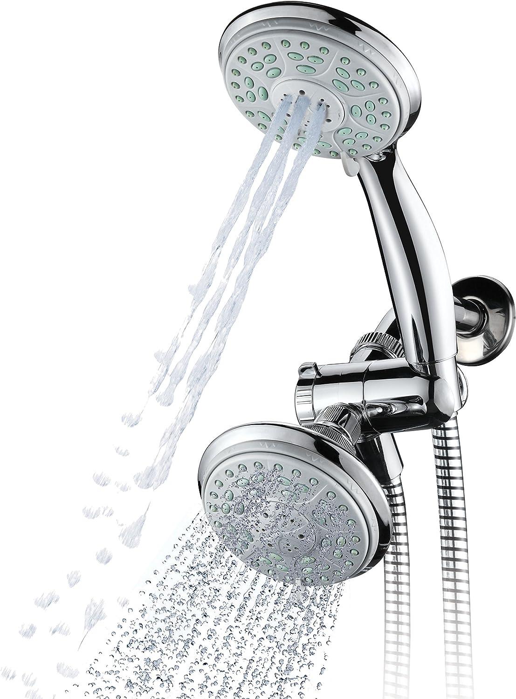 Aquadance by HotelSpa 20 Setting Slimline Showerhead and Hand Shower Combo