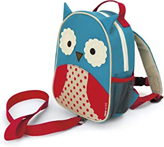 Skip Hop Zoo Let Mini Backpack with Rein, Owl