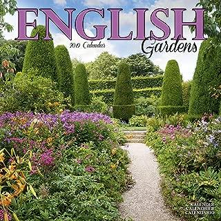 Garden Calendar - English Gardens Calendar - Calendars 2018 - 2019 Wall Calendars - Flower Calendar - English Gardens 16 Month Wall Calendar by Avonside