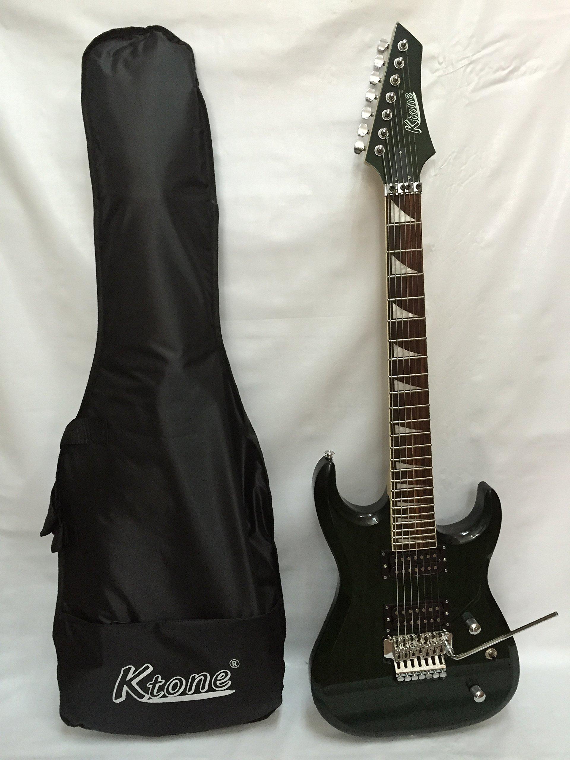 Cheap Tg Green 7 String Electric Guitar Free Gig Bag Black Friday & Cyber Monday 2019