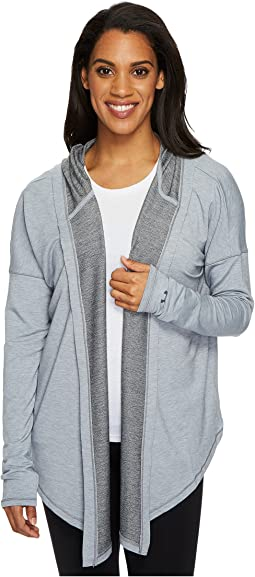 Modal Terry Open Closure Cardigan