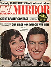 TV Radio Mirror Magazine August 1964- Mary Tyler Moore- Dick Van Dyke- Beatles