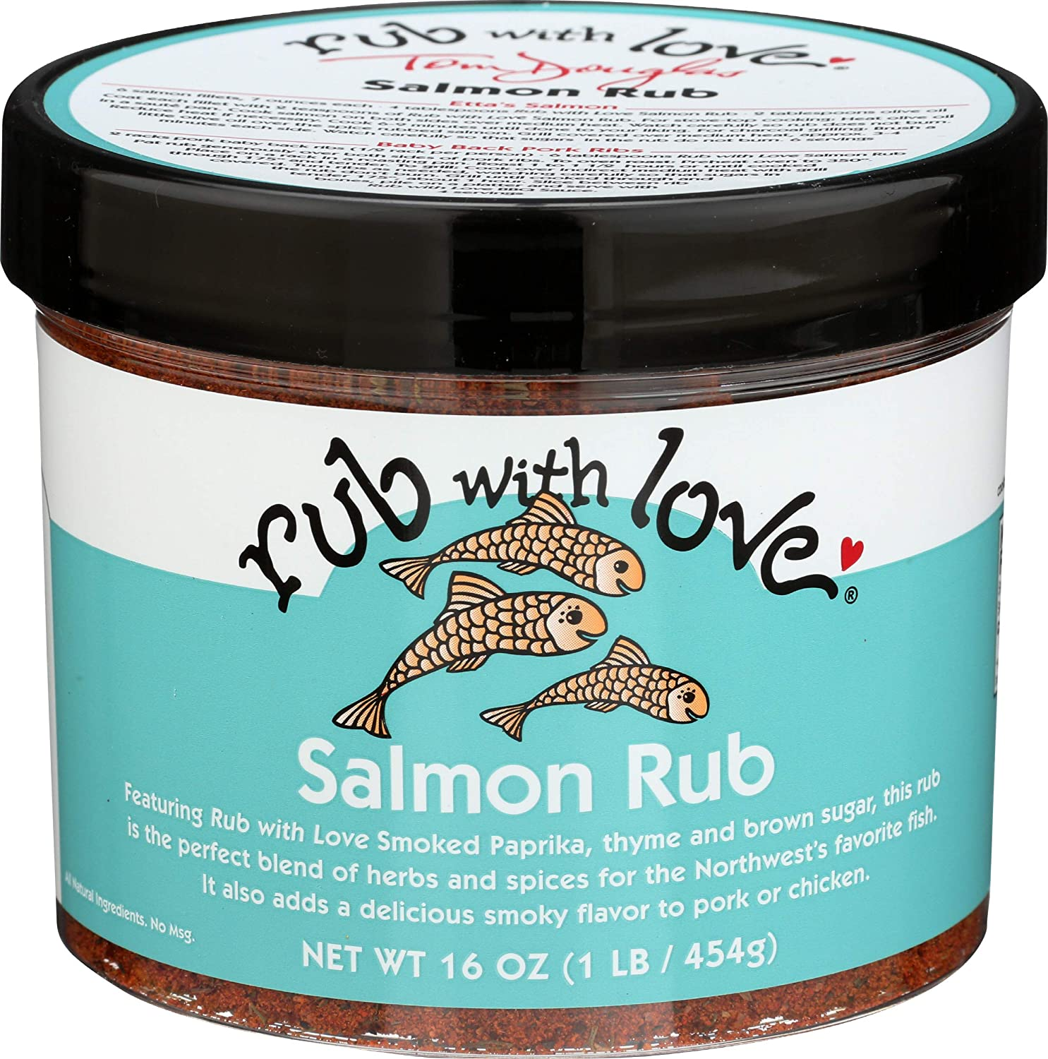 Manufacturer regenerated product RUB WITH LOVE Rub Sale Special Price With OZ Love 16 Salmon Jumbo