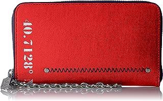 ناوتيكا , محفظة معصم بسلسلة , لون أحمر