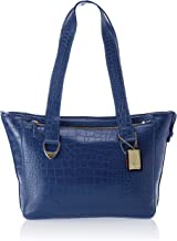 Hidesign SB Iris 01 Women's Shoulder Bag (Medium Blue) (SB ISIS 01)