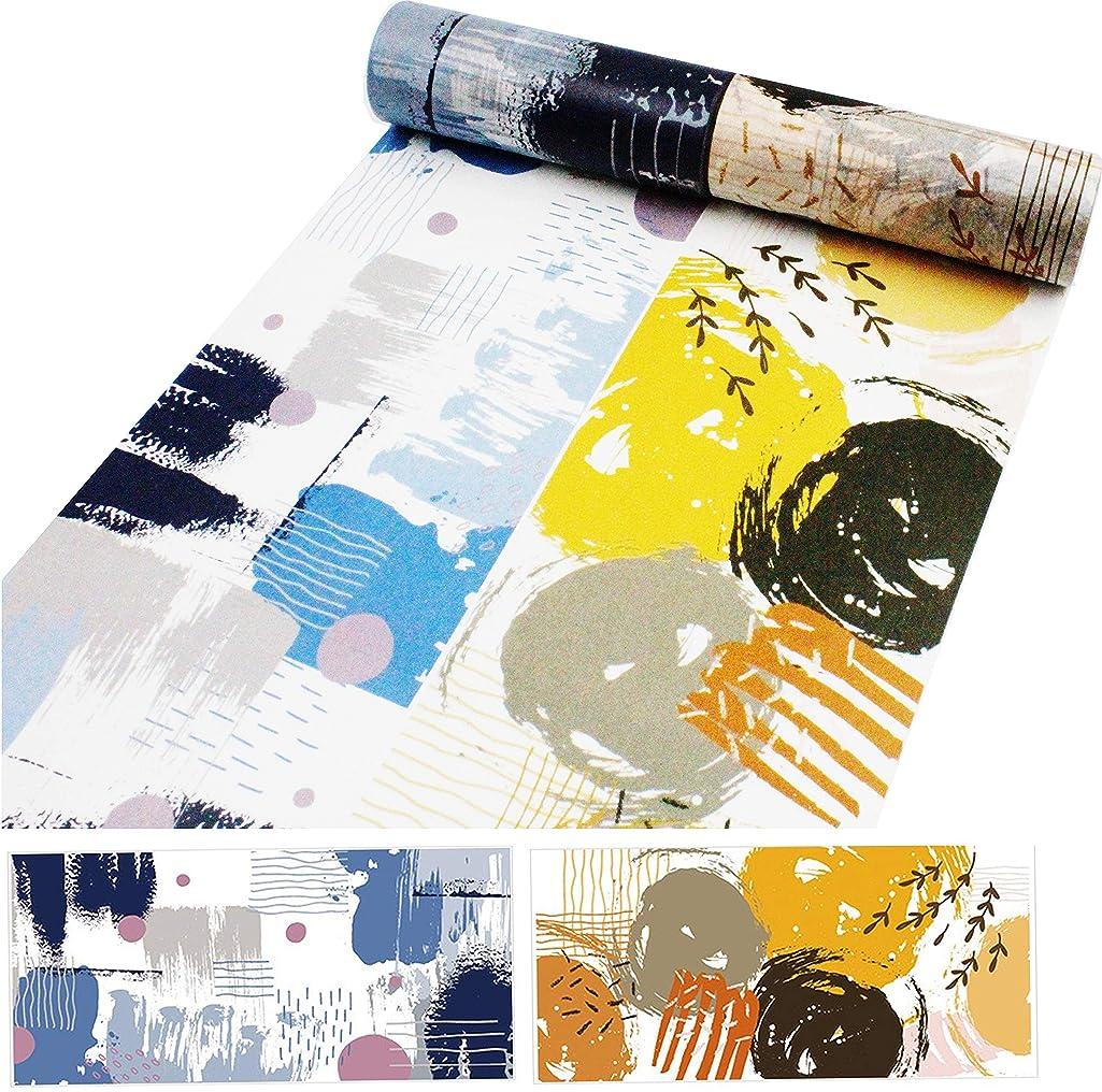 HIYOU-Home Japanese Color Impression Grain Washi Tape-Set of 2 Rolls(Color Impression)